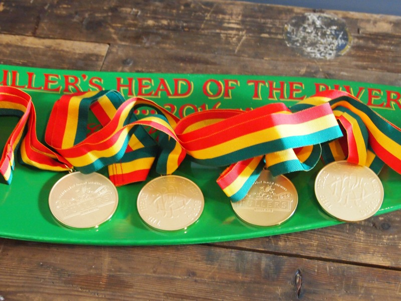 Medals and blade