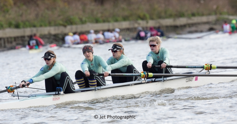 Cambridge University women's coxless four