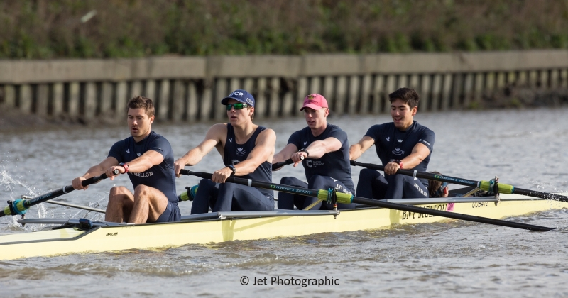 Oxford University men's coxed four
