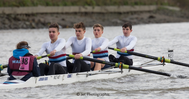 Walton RC boy's coxed four