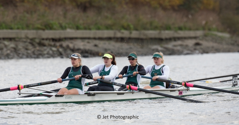 Exeter University women's coxed four