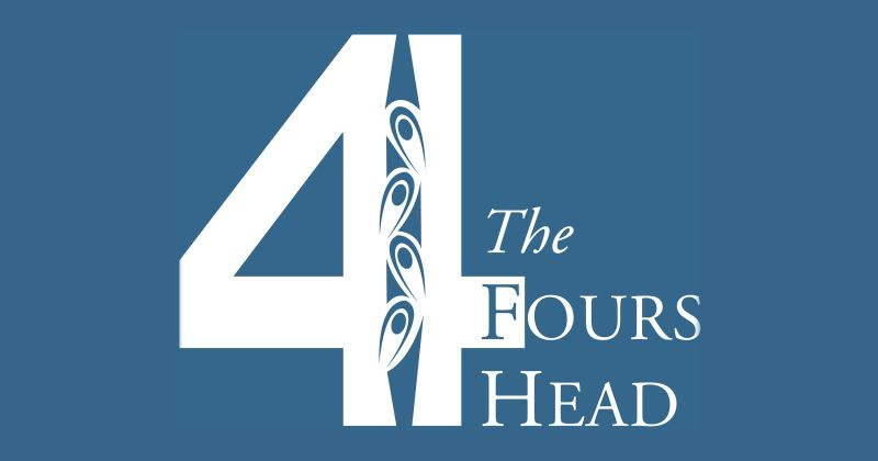 Fours Head logo banner