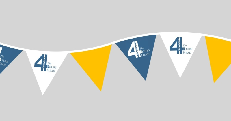 Fours Head bunting
